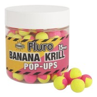 Pop-Up Dynamite Baits Two-Tone Krill & Banana Fluro