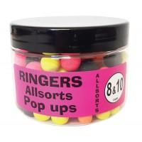 Pop Up Ringers Allsorts Match, 8&10mm, 60g