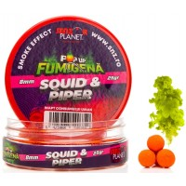 Pop Up Fumigena Senzor Planet, 8mm, 25g/borcan