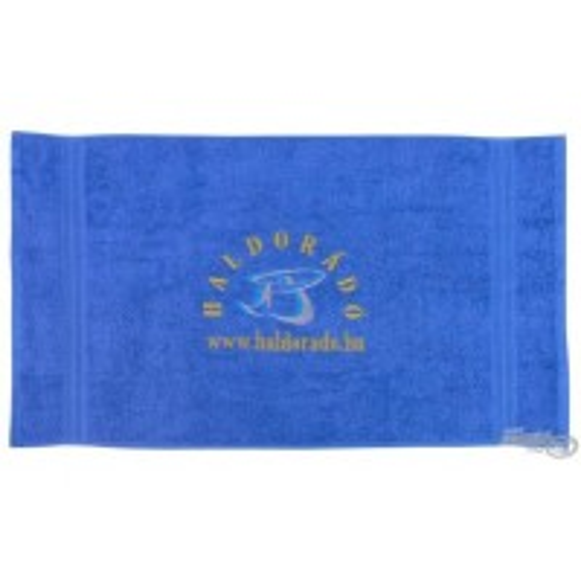 Prosop Haldorado Brodat, Albastru, 90x50cm