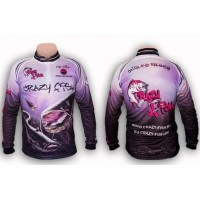 Bluza Crazy Fish Long Sleeve Fishing Shirt Catfish Battlefield