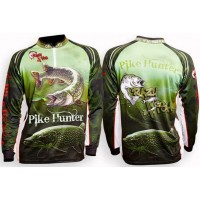 Bluza Crazy Fish Sleeve Fishing Shirt Pike Hunter Camo
