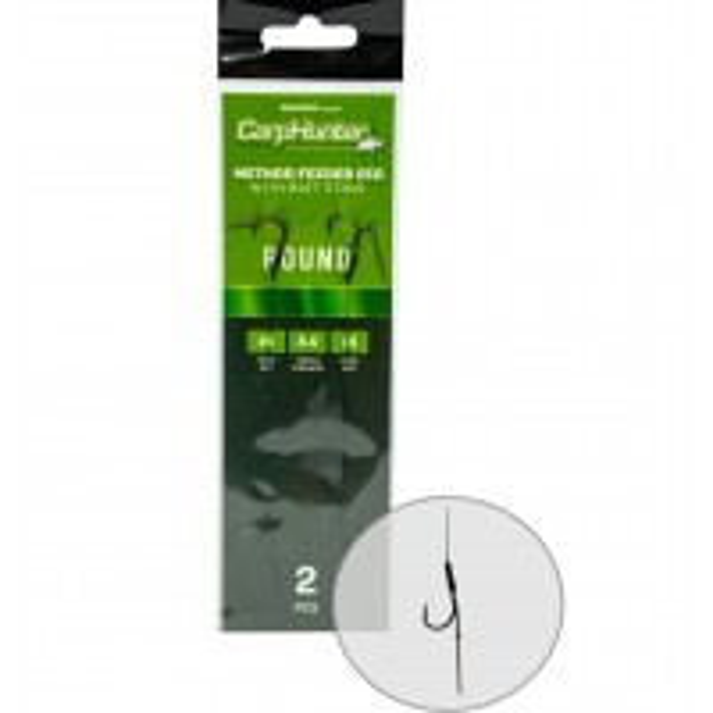 Rig EnergoTeam Carp Hunter Method Round, 2buc/plic