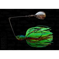 Bertilure Spinnerbait Colorado Deep Cup 11gr Skirt Siliconic Fire Tiger