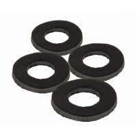 Saibe FOX Black Label Leather Washers, 4buc/set