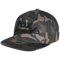 Sapca Fox Camo Flat Peak College Snap Back