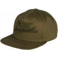 Sapca Fox Khaki Flat Peak College Snap Back
