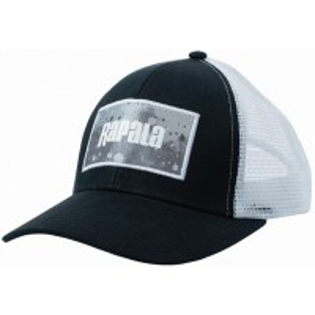 Sapca Rapala Splash Trucker Cap Black / Grey