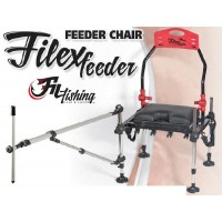 Scaun Filfishing Filex Feeder Chair + Brat Telescopic + Husa de Transport