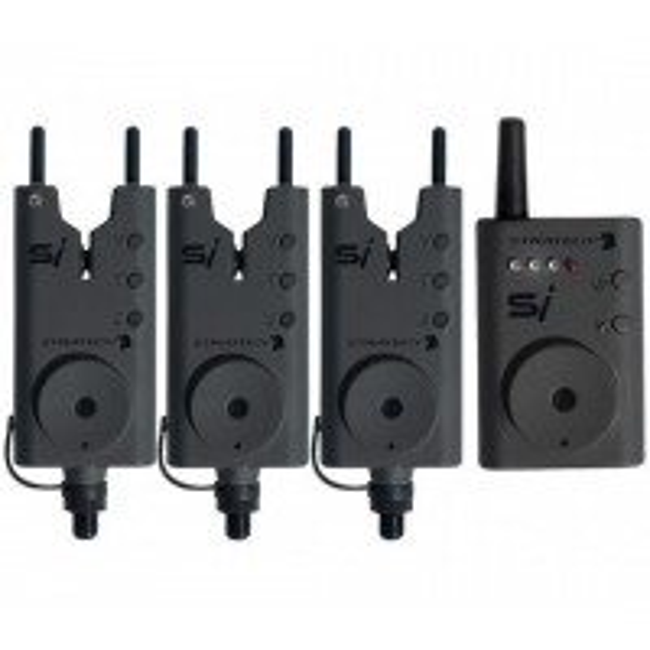 Set Avertizori Wireless + Statie Strategy SI, 3+1