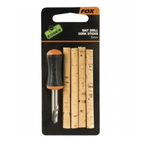 Set Fox Edges Bait Drill & Cork Sticks (6mm)