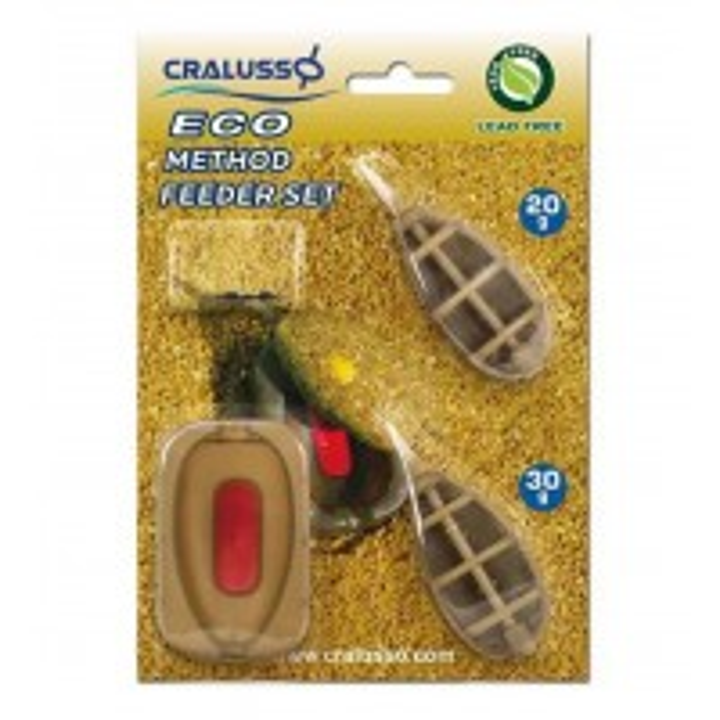 Set Method Feeder + Matrita Cralusso Eco, 2+1buc/blister