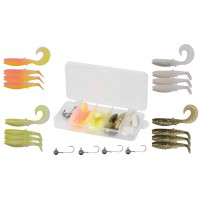 Set Naluci Savage Gear Cannibal M, 20buc/set