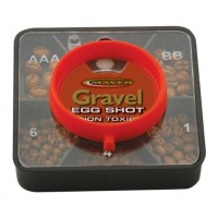 Set Plumbi Maver Gravel Egg Shot, 5 Compartimente