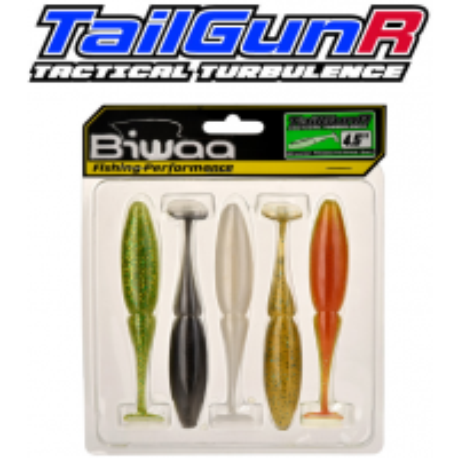 Shad Biwaa TailgunR Swimbait Multicolor, 11.5cm, 5bucplic