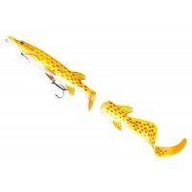 Shad Savage Gear Hybrid Pike SS03, Albino Pike, 17cm, 45g, 1+2cozi/blister