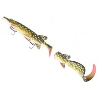 Shad Savage Gear Hybrid Pike SS02, Yellow Pike, 17cm, 45g, 1+2cozi/blister