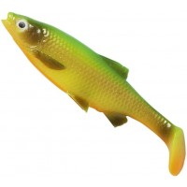 Shad Savage Gear LB Roach Paddle Tail, Firetiger, 12.5cm, 22g, 3buc/plic