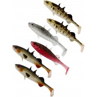 Shad Westin Stanley the Stickleback Shadtail, Culoare Clear Water Mix, 5.5cm, 1.5g, 6bucplic