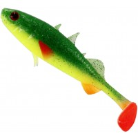 Shad Westin Stanley the Stickleback Shadtail, Culoare Fireflake, 9cm, 7g, 5bucplic