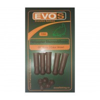 Sistem EVOS Helicopter Sleeves & Beads, Brown, 5bucplic