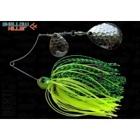 Spinnerbait Berti Shallow Killer Colorado Colorado, Chartreuse/Lime Tiger, 11g
