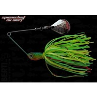 Spinnerbait Bertilure Paleta Colorado Skirt Fire Tiger 7g