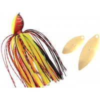 Spinnerbait Colmic Herakles Flatter 21g Chili Pepper