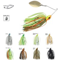 Spinnerbait Colmic Herakles Flatter Compact 7g Silver