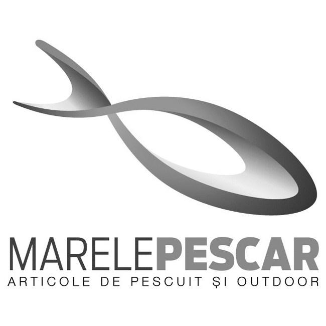 Spinnerbait cu Skirt Berti Colorado, Alb/Negru Orange/Negru, 11g