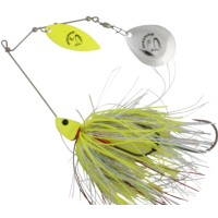 Spinnerbait Savage Gear Da Bush Yellow Silver 16cm 32g