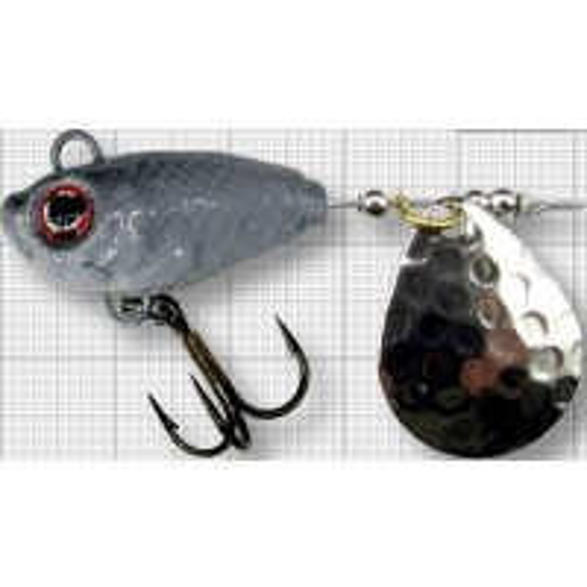 Spinnertail Berti Fish Helic, Colorado, Culoare Shad, Nr.3, 14g