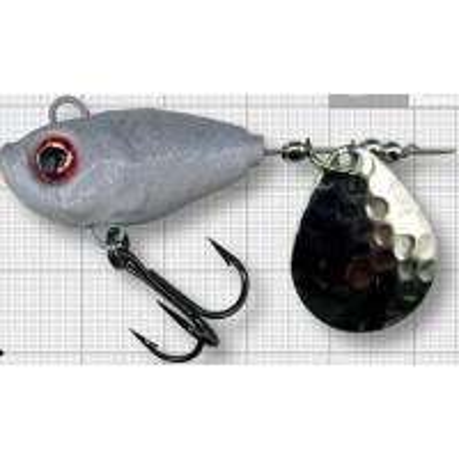 Spinnertail Berti Fish Helic, Colorado, Culoare Shad, Nr.5, 21g