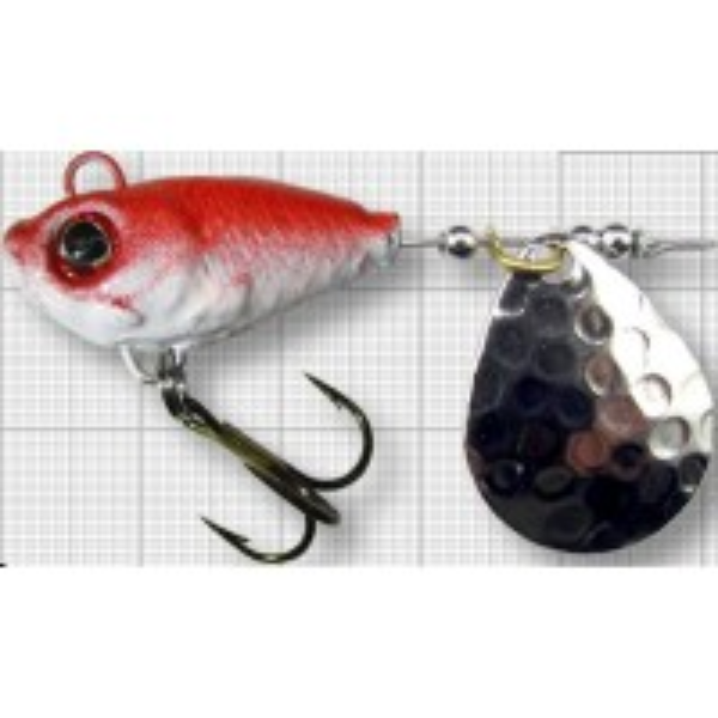 Spinnertail Berti Fish Helic, Colorado, Red Back, Nr.3, 14g