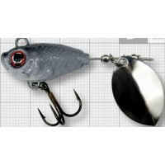 Spinnertail Berti Fish Helic, Olympic, Culoare Shad, Nr.3, 14g