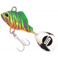 Spinnertail Spro ASP UV, Fire Zebra, 10g