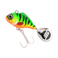 Spinnertail Spro ASP UV, White Fire Tiger, 28g