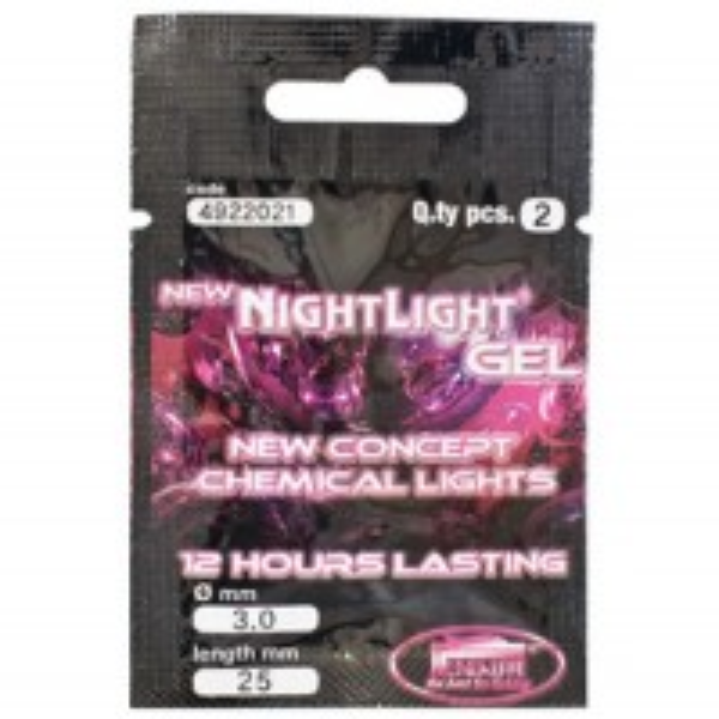Starleti Lineaeffe Nighlight Gel, 25x3mm, 2buc/plic