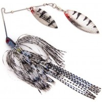 Spinnerbait Stanley Jigs VibraShaft Spinnerbait, Ghost Shadow, 10.5g