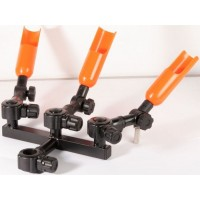 Suport Modular Triplu pentru Lansete Trabucco XPS Clamp Feeder Rod Rest