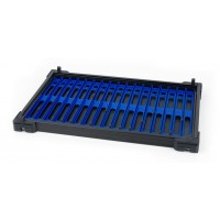 Tava Modulara + 17 Suporturi Monturi/Linii Matrix Pole Winders Trays, Dark Blue, 26cm
