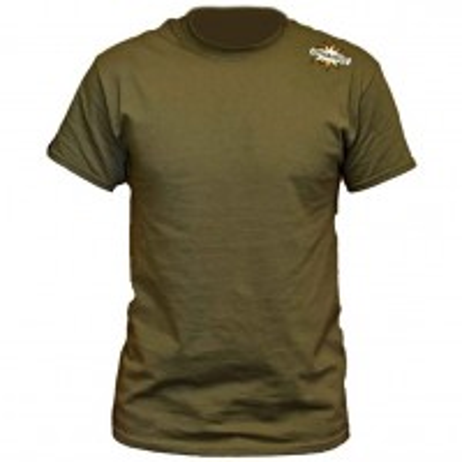Tricou Dynamite Baits Carp T-Shirt, Khaki Green