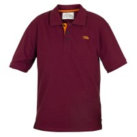 Tricou Fox Chunk Polo Burgundy/Orange