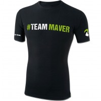 Tricou Maver Team Maver, Black