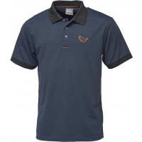 Tricou Polo Savage Gear Simply, Bleumarin