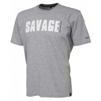Tricou Savage Gear Simply, Light Grey