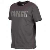 Tricou Savage Gear Simply Savage Gri