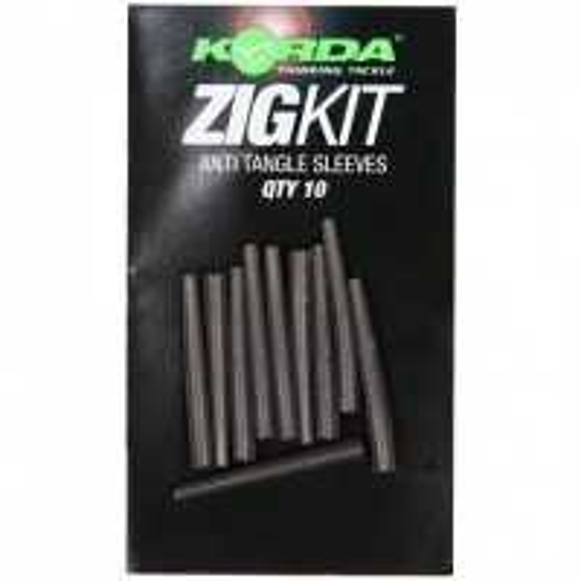 Tub Antitangle Conic Korda ZigKit Sleeves, 10buc/plic