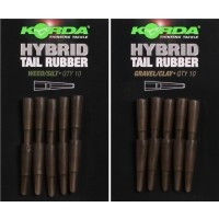 Tub Conic Korda Hybrid Tail Rubber, 10buc/plic
