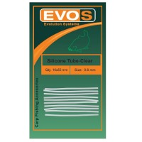 Tub Silicon Evos Transparent 10buc/plic